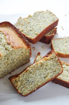 Quick Lemon Poppyseed Bread