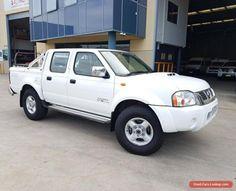 2010 Nissan Navara D22 MY08 ST-R (4x4) Manual 5sp M #nissan #navara #forsale #australia