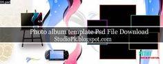 Photo Album Templates Psd