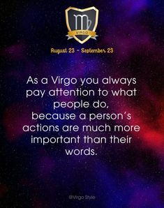 Yuppp ! Actions more trusted than words