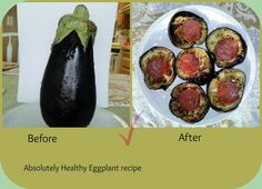 Eggplant healthy and  easy