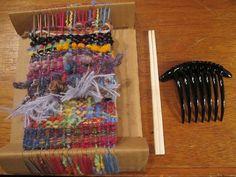 『KIORI』 段ボールを使った手織りのワークショップに参加しました* : PETAL MOON の日々                                                                                                                                                                                 もっと見る