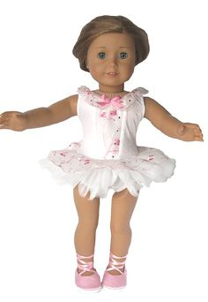American Girl Doll Clothes, American Girl Doll Ballet Dress