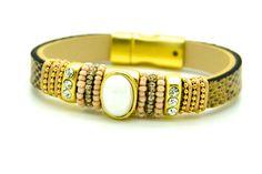 Bracelet aimanté lezard