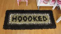 A totally Hoooked carpet made with Zpagetti