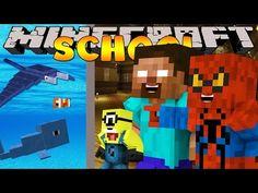 Minecraft School : INVITATION TO DINOSAUR WORLD! - YouTube