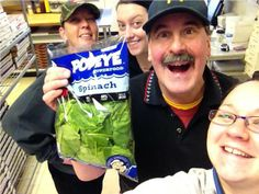 Our Marco's Pizza crews are going Popeye'd over fresh spinach!