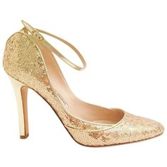 Pre-owned Manolo Blahnik Size 39 Rose Gold Sequin Pumps ($250) ❤ liked on Polyvore featuring shoes, pumps, rose gold sequin, high heel pumps, sequin shoes, sequin pumps, manolo blahnik and pre owned shoes