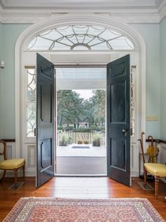 For sale: $8,500,000. Seabrook Plantation is located on a branch of the North Edisto River, Steamboat Creek, just south of Charleston, South Carolina on Edisto Island.  The house was built by William Seabrook in 1810 on 350 acres with majestic views, surrounded by deep water (approximately forty feet).  Kiawah and Seabrook Island are only a short boat ride away.  The house is a Federal-style plantation with a grand, double staircase designed by James Hoban, the architect of the White House…