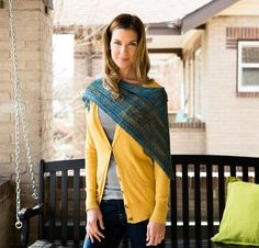 Shop Craftsy's premiere assortment of knitting supplies and save! Get the Lineau Shawl Kit before it sells out. - via @Craftsy