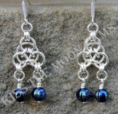 Aura Chainmaille Earrings