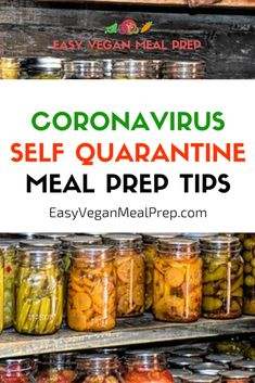 Getting ready for a Coronavirus self quarantine? Meal prep your way to success with these easy and healthy Coronavirus self quarantine meal prep tips > Vegan Meal Plans, Easy Meal Prep, Healthy Meal Prep, Healthy Cooking, Cooking Recipes, Cooking Tips, Quick Healthy Meals, Easy Meals, 15 Min Meals