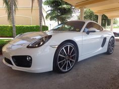 2014 Porsche Cayman S Cayman S 2dr Coupe Coupe 2 Doors White for sale in Melbourne, FL http://www.usedcarsgroup.com/used-cars-for-sale-in-melbourne-fl
