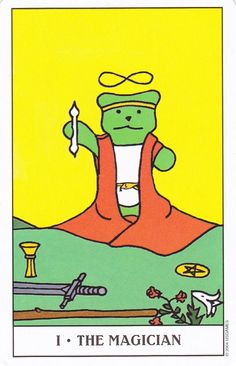 The Magican - Gummy Bear Tarot