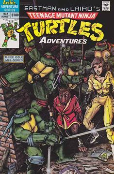Teenage Mutant Ninja Turtles Adventures (1988) #1