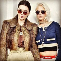 """633 Likes, 7 Comments - GRL PWR (@grl___pwr) on Instagram: """"KENDALL & CARA 