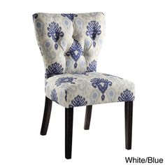 Ave Six Andrew Tufted Back Armless Chair   Overstock.com Shopping - Great Deals on Office Star Products Chairs
