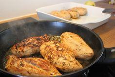 citrusmarinerede kyllingebryster