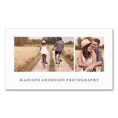 Simple and Clean 3   Photography Business Cards. This is a fully customizable business card and available on several paper types for your needs. You can upload your own image or use the image as is. Just click this template to get started!