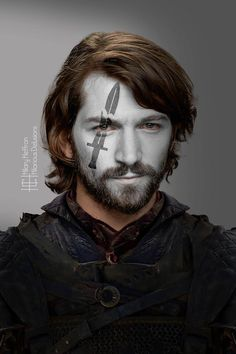 Daario Naharis | Game of Thrones War Paint by Hilary Heffron - Hilarious Delusions