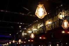 Comedy Bar NYC Comedy Bar, Track Lighting, Light Bulb, Nyc, Ceiling Lights, Home Decor, Decoration Home, Room Decor, Light Globes