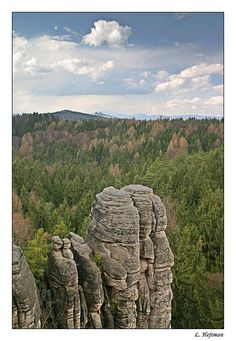The Prachov Rocks