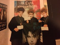 Hardcore Cure Fans in the mid Vintage Goth, 80s Goth, Punk Goth, New Wave, Goth Kids, Goth Subculture, Gothabilly, Riot Grrrl, New Romantics