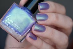 Femme Fatale - Glass Coffin | Brothers Grimm Snow White | April 1-5, 2015 | Glass Coffin is a blue (warm) to purple (cool) thermal with an envious green shine (may dry to a velvet-matte finish). Loosely inspired by Brother's Grimm Snow White, this shade is part of our April release.