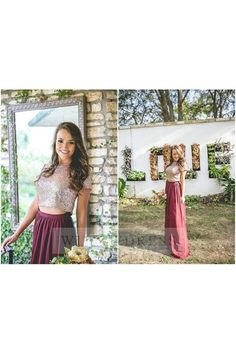 Shop discount Short Sleeve Sequined Top Burgundy Skirt Two Piece Prom Dress Two Piece Bridesmaid Dresses, Burgundy Bridesmaid Dresses Long, 2 Piece Prom Dress, Prom Dresses, Formal Dresses, Burgundy Skirt, Satin Color, Formal Prom, Sequin Top