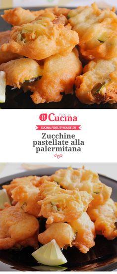 Zucchine pastellate alla palermitana