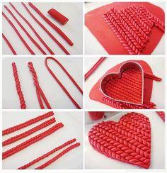 modelage façon tricot