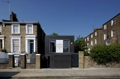 Built by Liddicoat & Goldhill in London, United Kingdom with date 2011. Images by Keith Collie. The Shadow House is a new build private house in Camden, North London. It has won a 2011 RIBA Award, Best small house...