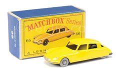 Matchbox Regular Wheels No.66A Citroen DS19