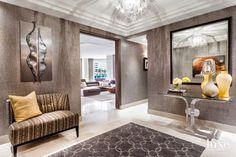 Fort Lauderdale Condo's Eclectic Interiors are Vintage-Meets-Contemporary