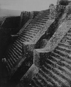 Teobert Maler, Aztec pyramid at Teopanzolco, Mexico, ca. 1875