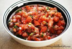 Polish The Stars: Chicken Fajitas, Cilantro Lime Rice & Fresh Tomato Salsa