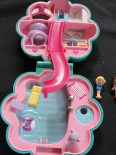 1990 Water Park - Polly Pocket Bluebird (I had this one as a kid - oh the fun times!)