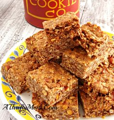 Chewy Chocolate Peanut Butter Bars, Gluten Free