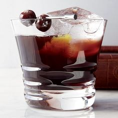 Heering Cherry Liqueur, bourbon, Lapsang souchong tea, Angostura bitters // Reinvented Classic Cocktails: http://www.foodandwine.com/slideshows/reinvented-classic-cocktails #foodandwine