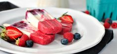 It's easy to make your own fruit-and-yogurt frozen pops with this recipe featuring Simply Organic® Vanilla Extract.