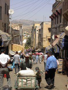 #Meknes in #Marokko, een heuvelachtig landschap! Travel Pictures, Travel Photos, Moroccan Style, Travel Inspiration, Places To Visit, Street View, Nature, Inspirational, Morocco