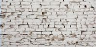 How to Whitewash a Brick Fireplace - using lime, not paint.