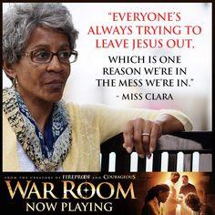 War room Eh... LET JESUS IN!