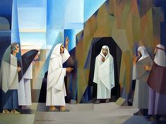 Lazarus, come forth! Art by Jorge Cocco oil on canvas 30x40 in. 2016 art and prints available at www.jorgecocco.com
