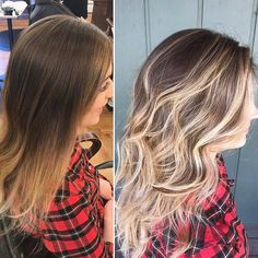 : @beautyby_nikkiaverill - Before & After Balayage 6 wk refresher    Beautiful summer blonde #blondebalayage #livedinhaircolor #naturalhair #blondehighlights #avedablonde #reeciasalonandspa #avedastylist #whitefishmontana #glaciermt #explorewhitefish #whitefish #montana #aveda #reeciasalon #WhitefishSpa #hair #hairstyle #hairstyles #hairstylist #haircolor #hairdo #haircut #fashion #stylist #style #hairmen #hairoftheday #avedahair #coupon