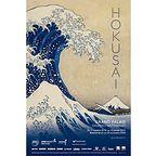 Hokusai - this major exhibit at the Grand Palais will be divided into 2 phases to protect the fragile works. Image: Sous la grande vague au large de la côte à Kanagawa, Through 18 January 2015 Jeff Koons, Japanese Graphic Design, Japanese Art, Japanese Painting, Art Occidental, Katsushika Hokusai, Paris Art, Exhibition Poster, Tatoo