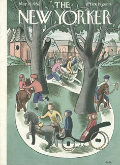 The New Yorker - Saturday, May 22, 1937 - Issue # 640 - Vol. 13 - N° 14 - Cover by : Victor Bobritsky