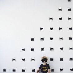 13,90€ les 30, dispo Lot de 30 stickers muraux chambre enfants Batman