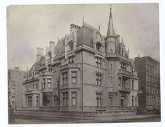 Vanderbilt House. Manhattan, NYC. c.1900. From tumblr, source unknown.