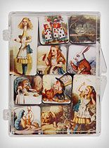 alice in wonderland magnet set...kewt..